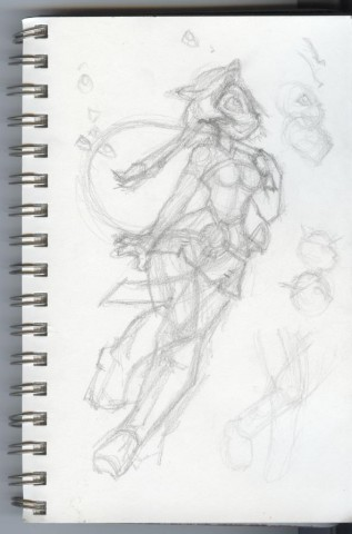Sketch of Jezebelle
